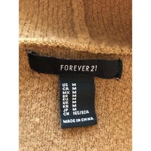 Thick Brown Cardigan from Forever 21